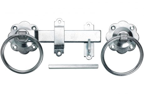 A ring latch perfect for timber gates.