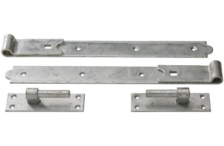 Hook and band hinge perfect larger gates. This is a heavy duty hinge.