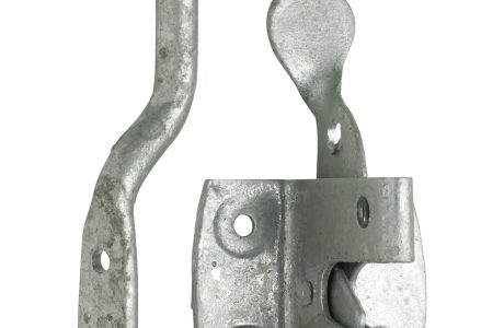 A auto gate latch perfect for securing small pedestrian gates.