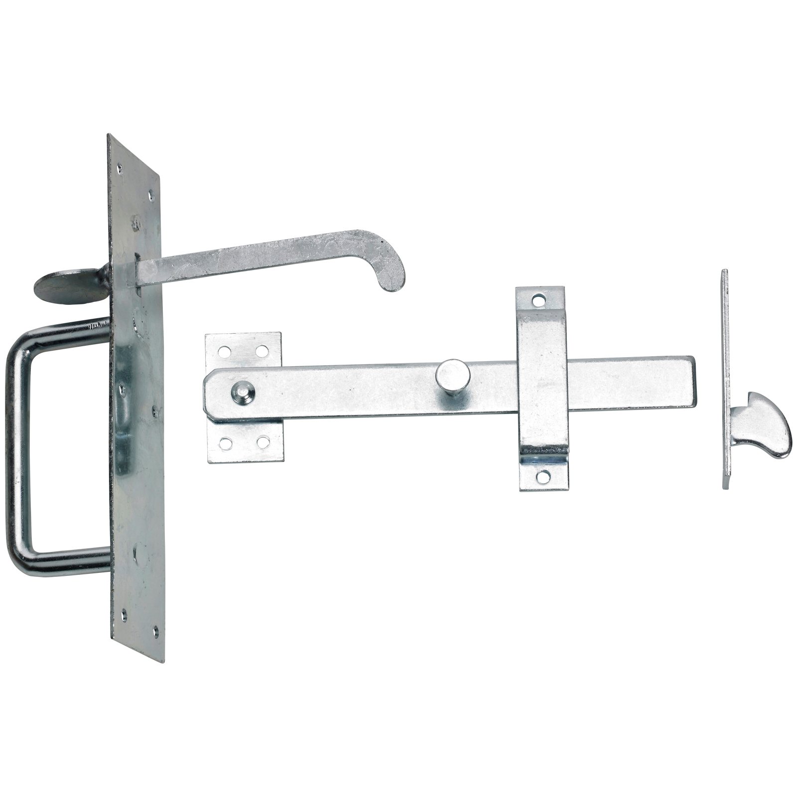 Suffolk latch perfect for keeping wooden gates closed.