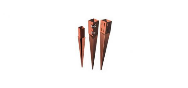 Fence post supports to help erect or repair a fence