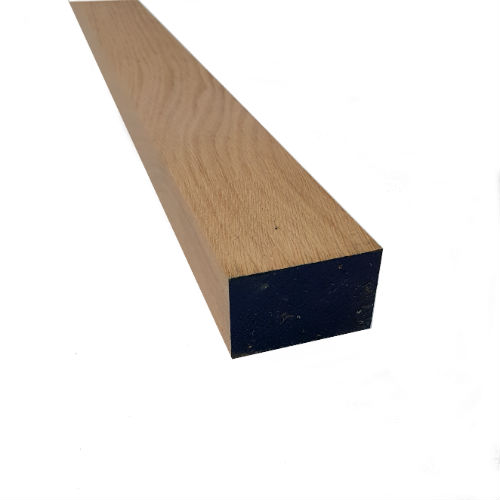 Pressure treated timber rail used for close board fencing.